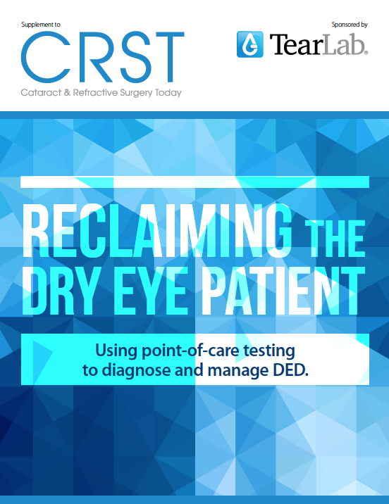 Reclaiming the Dry Eye Patient
